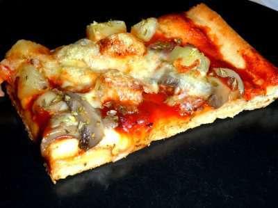 Pizzadeig til langpanne oppskrift.
