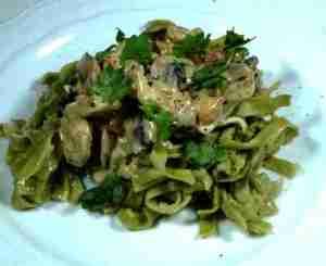 Prøv også Pasta med hjemmelagd soppsaus.