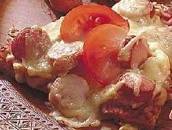 Prøv også Ferdigpizza med pølsevri.