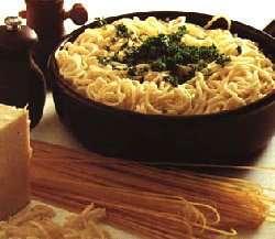 Prøv også Pasta a la Alfredo.