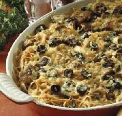 Prøv også Pasta med kjøtt- og ostesaus.