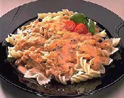 Prøv også Pasta med meksikansk rekesaus.