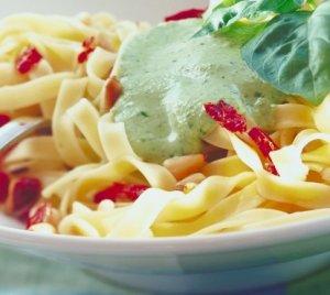 Prøv også Pasta med pesto.