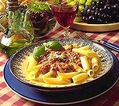 Prøv også Pasta med soppsaus.