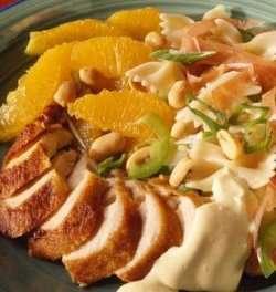 Prøv også Pastasalat med grillet kylling.