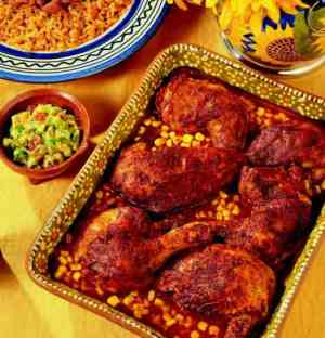 Try also Pollo achiote (mexicansk krydderkylling).