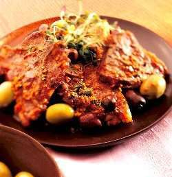 Prøv også Lammekoteletter i sherrysaus.