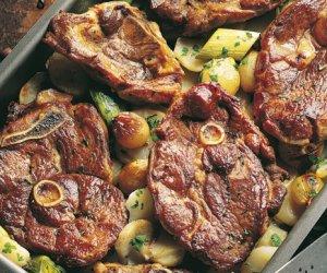Prøv også Lammeskiver på potetseng.