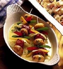 Prøv også Potetspyd med lammekjøtt.