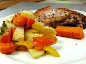 Prøv også Koteletter med rotgrønnsaker.