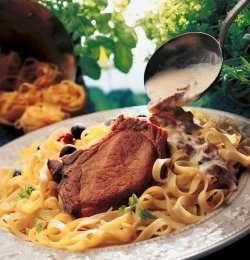 Prøv også Koteletter og pasta.
