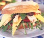 Prøv også Ciabatta med ost og ruccolasalat.
