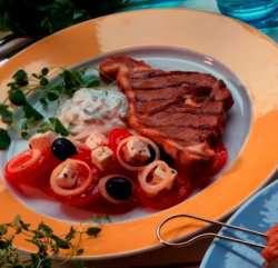Prøv også Grillet lammekjøtt med tzatziki.
