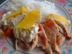 Prøv også Grillet kylling med fruktsaus.