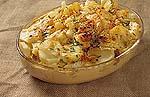 Prøv også Kyllingform med potetskiver.
