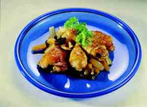 Prøv også Kyllinggryte med tørket frukt.