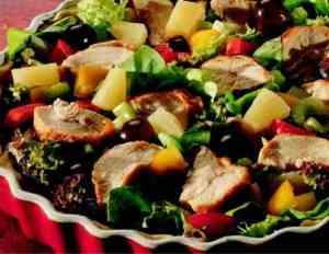 Prøv også Kyllingsalat på paibunn.
