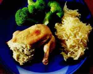 Prøv også Ostefylte kyllingbryst.