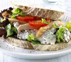 Prøv også Sandwich med kyllingsalat.