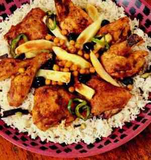 Les mer om Sanuunad Digaag (Afrikansk kyllinggryte) hos oss.