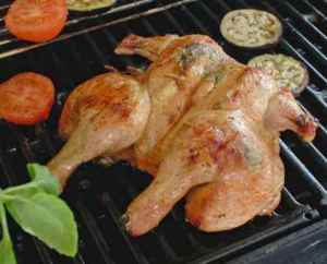 Prøv også Utbrettet kylling på grillen.