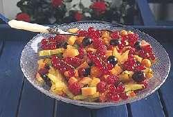 Prøv også Fruktsalat m/råkrem.