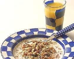 Prøv også Frokostblanding med melk eller yoghurt.