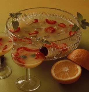 Frukt-bowl oppskrift.