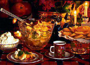 Fruktsalat - jul 3 oppskrift.