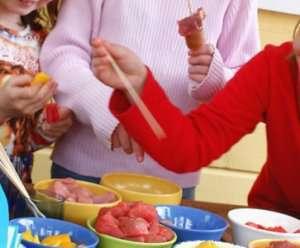 Prøv også Grillspyd med svinekjøtt og eksotisk frukt.