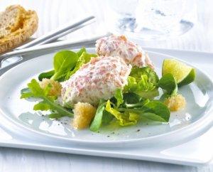 Prøv også Ørretmousse på salatseng.