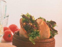 Pitabrød med kreolsk smak oppskrift.