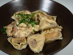 Prøv også Ravioli di salmone.