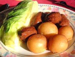 Try also Kjøttkaker med nykål og nypoteter.