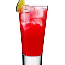 Raspberry Collins oppskrift.