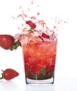 Jordbær mojito oppskrift.