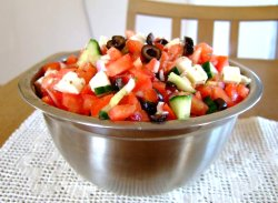 Prøv også Salsa Salat (Lørdags Snacks).
