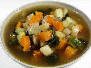 Prøv også Grønnsakssuppe med pølse.