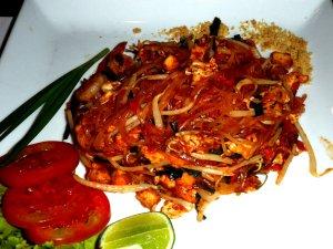 Prøv også Thai nudler.