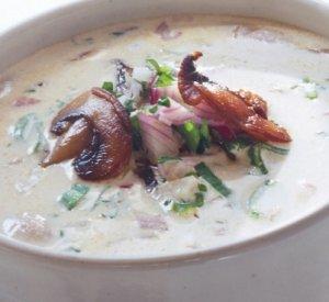 Prøv også Sopp og Løksuppe.