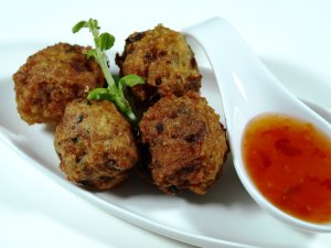 Prøv også Thailandske fiskeboller med koriander.