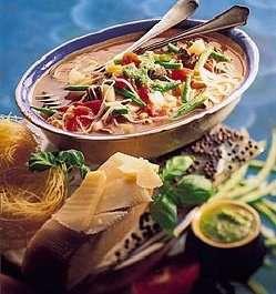 Prøv også Suppe med pistou.