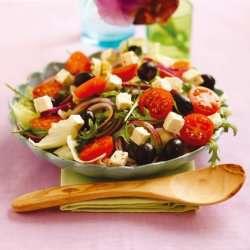 Prøv også Gresk salat rask.