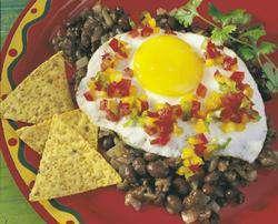 Prøv også Chili con carne med speilegg.
