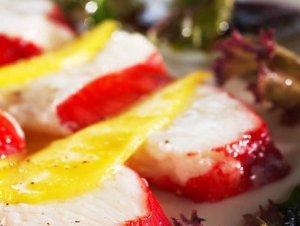 Prøv også Kongekrabbe med mango salat.