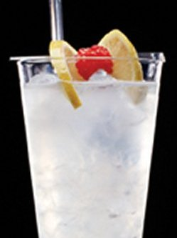 Absolut Raspberri Collins oppskrift.