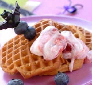 Prøv også Vafler med blåbær.