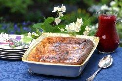 Prøv også Ovnspannekake med risengryn og bærsaus.
