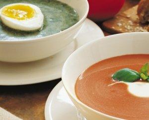 Prøv også Tomat- og spinatsuppe.