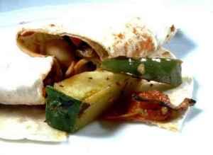 Prøv også Grønnsaksfajitas - Fajitas dechiles.